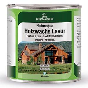 Декоративная восковая лазурь Naturaqua holzwachs lasur
